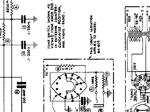 bt100x radio farnsworth television  u0026 radio corp
