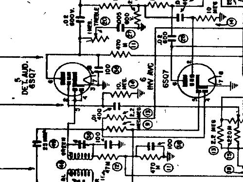 CC-90 Ch= C128-1 Radio Farnsworth Television & Radio Corp. - on