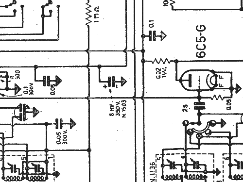 g97 radio geloso sa  milano  build 1945    2 schematics  10