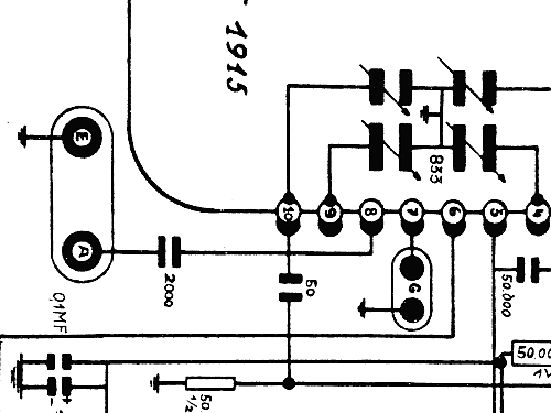 g 541 radio geloso sa  milano  build 1939    2 schematics  5