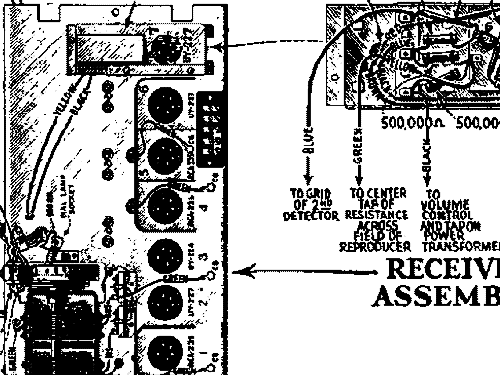 H 91 R Longfellow Remote Control Radio General Electric Co