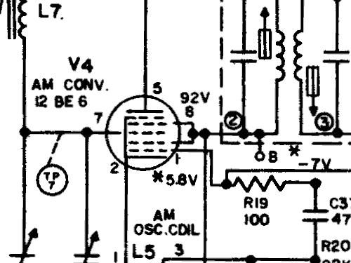 T245a Radio General Electric Co Ge Bridgeport Ct Syracuse