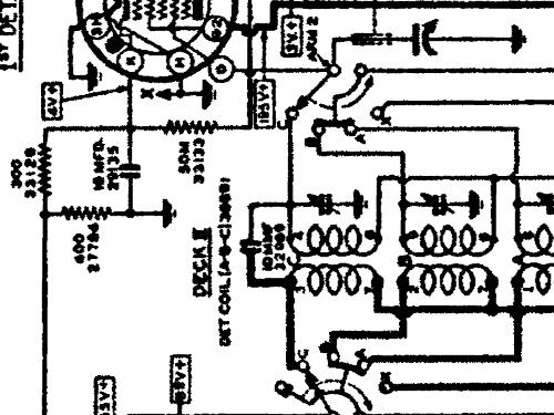 Grunow Radio Schematic