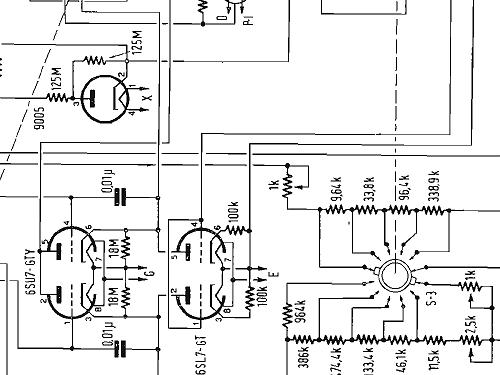 Vacuum Tube Voltmeter 1800-A Equipt General Radio