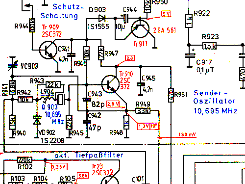 900 mhz video sender schematics