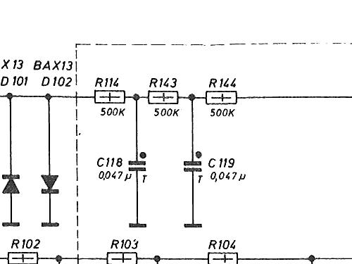 Universal-Voltmeter UV4 mit 30 mV Equipment Grundig Radio-