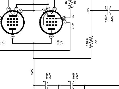 Regulated Power Supply PS-4 220 V Equipment Heathkit nd,