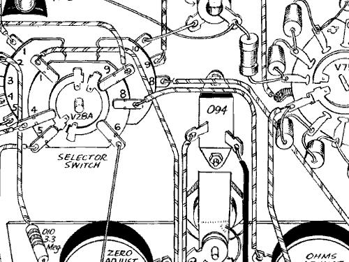 Vacuum Tube Voltmeter V 4 Equipment Heathkit Brand Heath Co