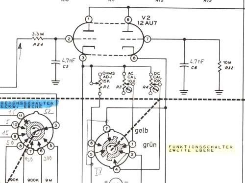 Vacuum Tube Voltmeter IM-18E Equipment Heathkit nd,