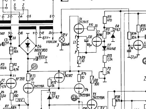 Tv Circuit Schematics