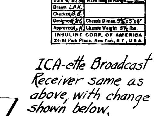 ICAette ; Insuline Corp. Of (ID = 471610) Radio