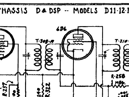 D-11 Ch= D or DSP Radio International Radio Corp Kadette