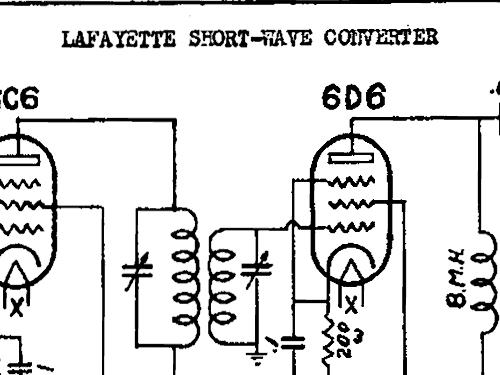 sw converter converter lafayette radio  u0026 tv corp  new york n