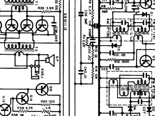 F M Radio Circuit Diagram