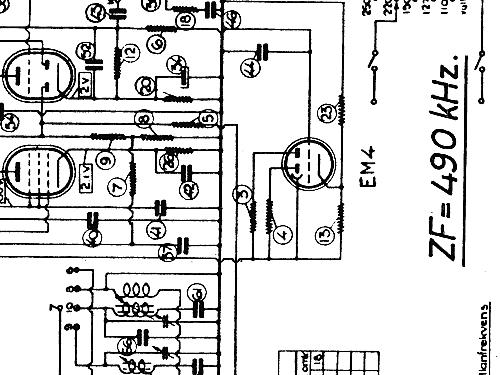 M26w Radio Luxor Radio Ab Motala Build 1942 1943 1 Schema