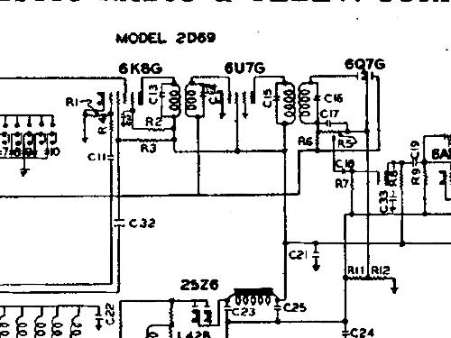 2d69 radio majestic radio  u0026 television co  post 1932  build