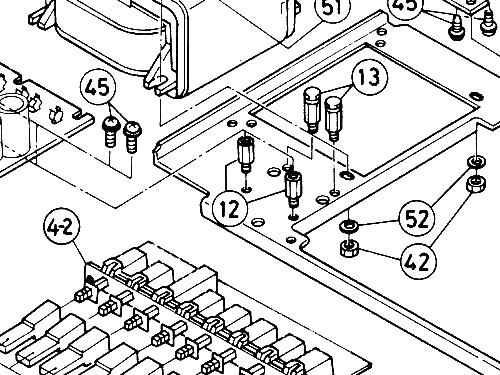 Mecasound Stero Amplifier Hauptgert Amplmixer Metz Transfo