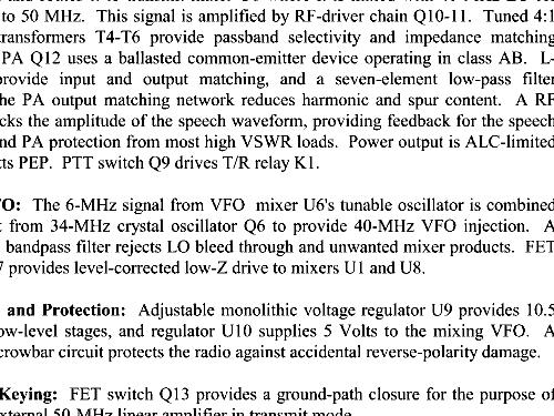 Six-Meter SSB Transceiver MFJ-9406 Amateur MFJ Enterprises