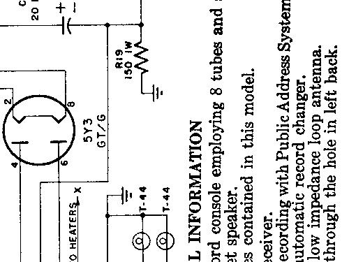 881 Packard Bell Co ID 352699 Radio