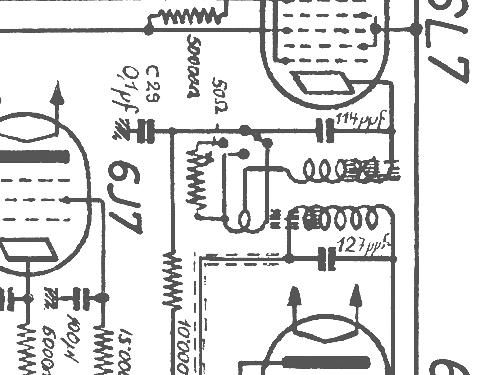 7889 radio paillard ag  st  croix  build 1939  1940  1 schema