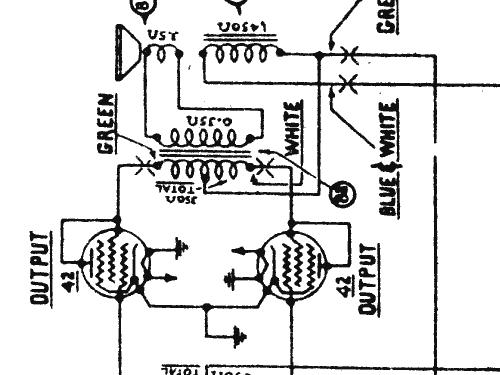509x Radio Phonograph Radio Philco Philadelphia Stg Batt