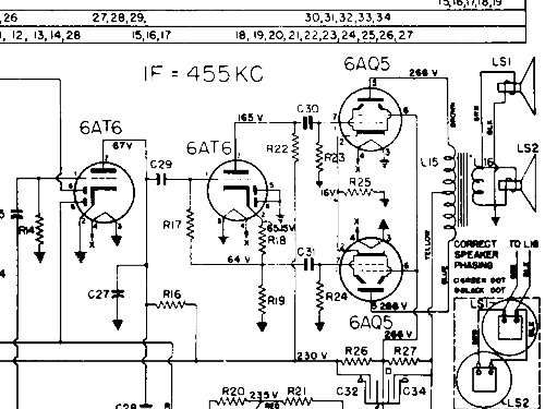 964 Radio Philips Canada Build 1950 1 Schematics 9 Tub