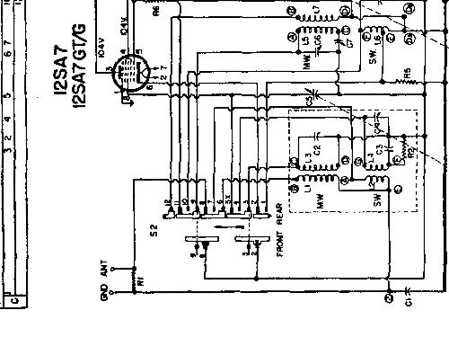 mcu30l radio philips canada  build 1950     2 schematics  5