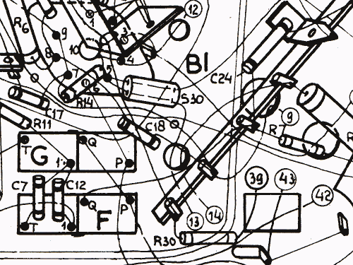 b4x23a 01 54 radio philips eindhoven tubes international Military Vehicle Schematics