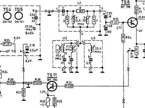 Transistor Philetta 12 X12t700 Ch T3 Television Philips