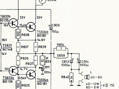 Hifi Stereo Steuergert Rh702 46 Transistors Radio Philips B
