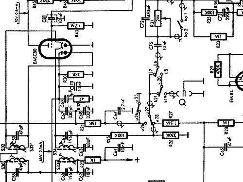 philips 1001 bd483a radio philips radios deutschland buil Electric Schematics