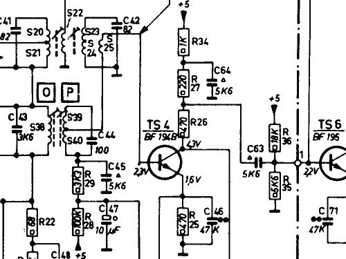 Transistor Steuergert Amfm Stereo 22 Rf 985 Radio Philips