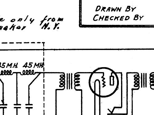 5 tube radio rees