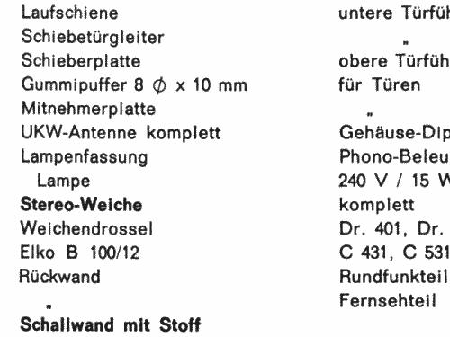 Schwarzwald Automatic 12v Stereo Tv Radio Saba Villingen