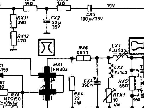 finlandia 1c0j television salora salo build 1979 4 pict rh radiomuseum org Residential Electrical Wiring Diagrams Basic Electrical Wiring Diagrams