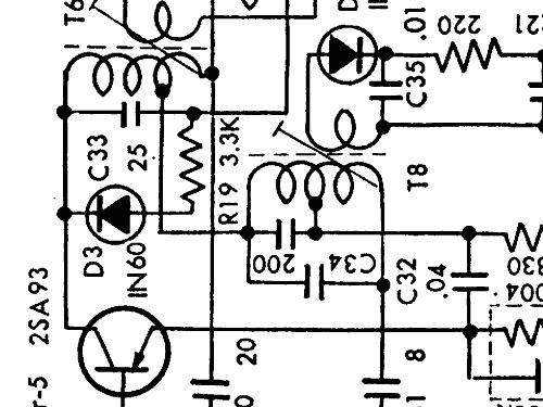 9 transistor 3 band aft