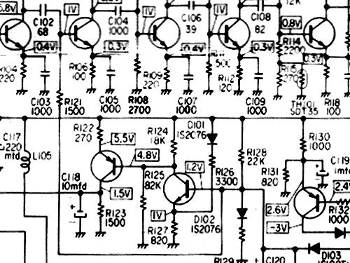 Amfm Quartz Clock Radio Tv Tpm2170 Tv Radio Sanyo Electri