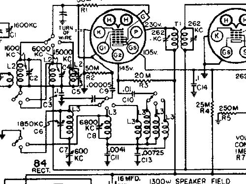 silvertone 1987 ch\u003d 101 407 radio sears, roebuck & co on silvertone phonograph schematics 528
