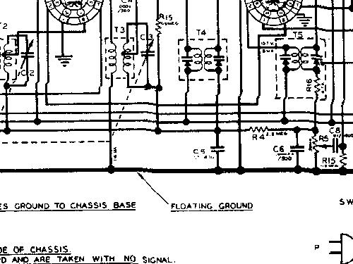 silvertone 6050 ch\u003d 132 825 3 radio sears, roebuck & co on silvertone phonograph schematics 528