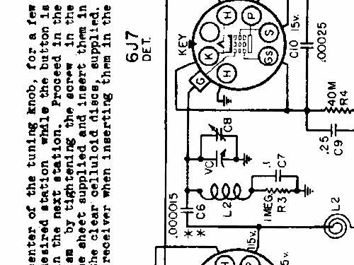 silvertone 6112 ch  101 521 radio sears  roebuck  u0026 co