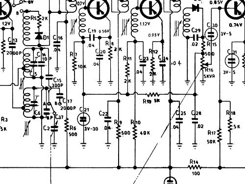 Bh 351 Radio Sharp Osaka Build 1959 10 Pictures 1 Schema
