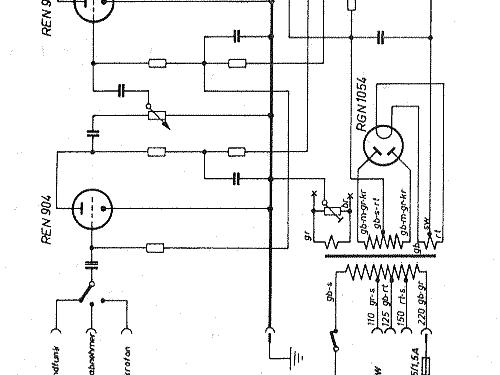 elv830 ampl  mixer siemens  d s  u0026 halske    s  electroger u00e4te