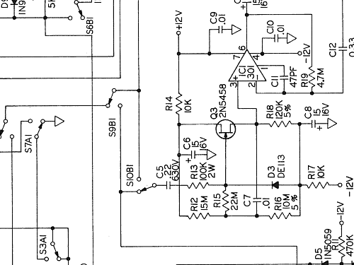 Digital Multimeter 464d Equipment Simpson Electric Co