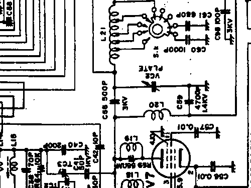ft 250 amateur sommerkamp, build 1969 ??, 11 pictures, 2 sch on silvertone 1432 schematic