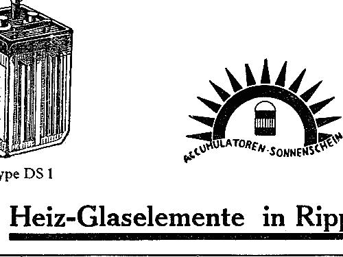 Radio Heiz Accumulator M 2 Power S Sonnenschein Berlin