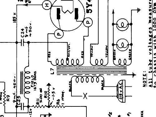 480 radio stewart warner  ontario  build 1940  1941  1 schema