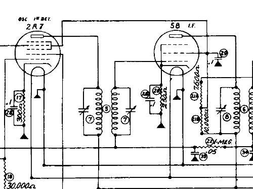 r108b radio stewart warner  ontario  build 1933  1934  1 sche