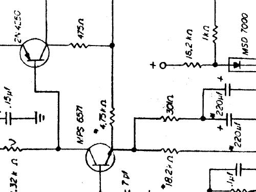 Preamplifier NS10 Ampl/Mixer Threshold Corporation
