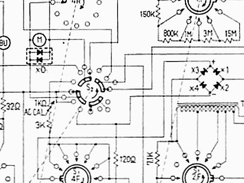 Analog Multimeter Tmk 700 Equipment Tmk Tachikawa Radio