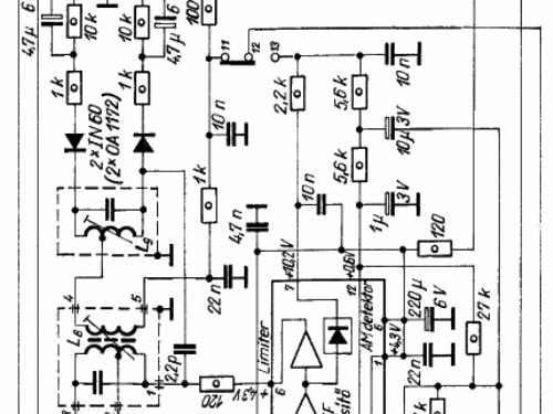 Amfm Radio Ic70 Oirt Radio Toshiba Corporation Tokyo Buil